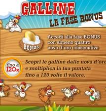 Slot Gallina, ecco la versione online