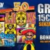 Bonus Senza Deposito: 15 euro da Snai