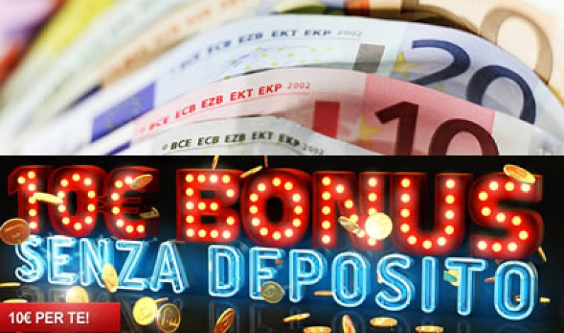 Bonus senza deposito slot online