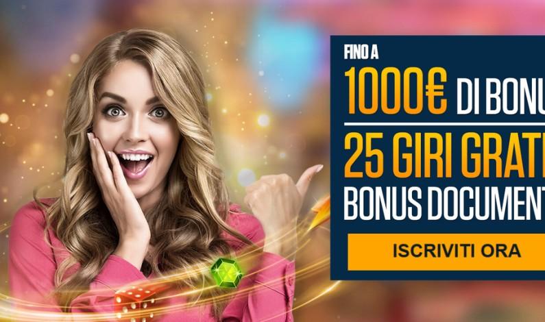 Casino con bonus benvenuto