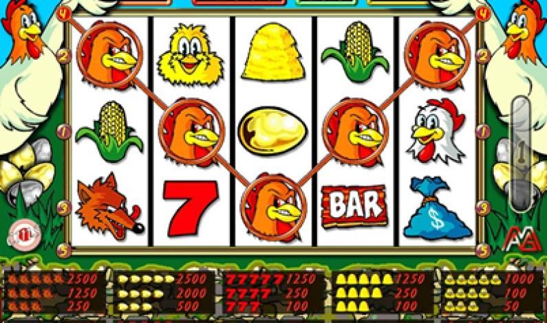 "Slot Gallina  ""Fowl Play Gold"""
