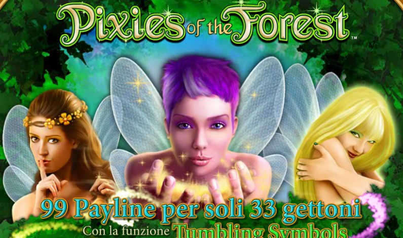 Slot Pixies of The Forest