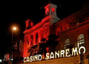 Le slot machines del casino di Sanremo