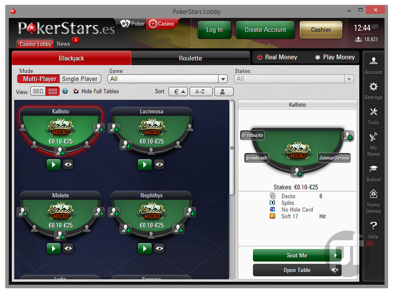 pokerstars giochi da casino