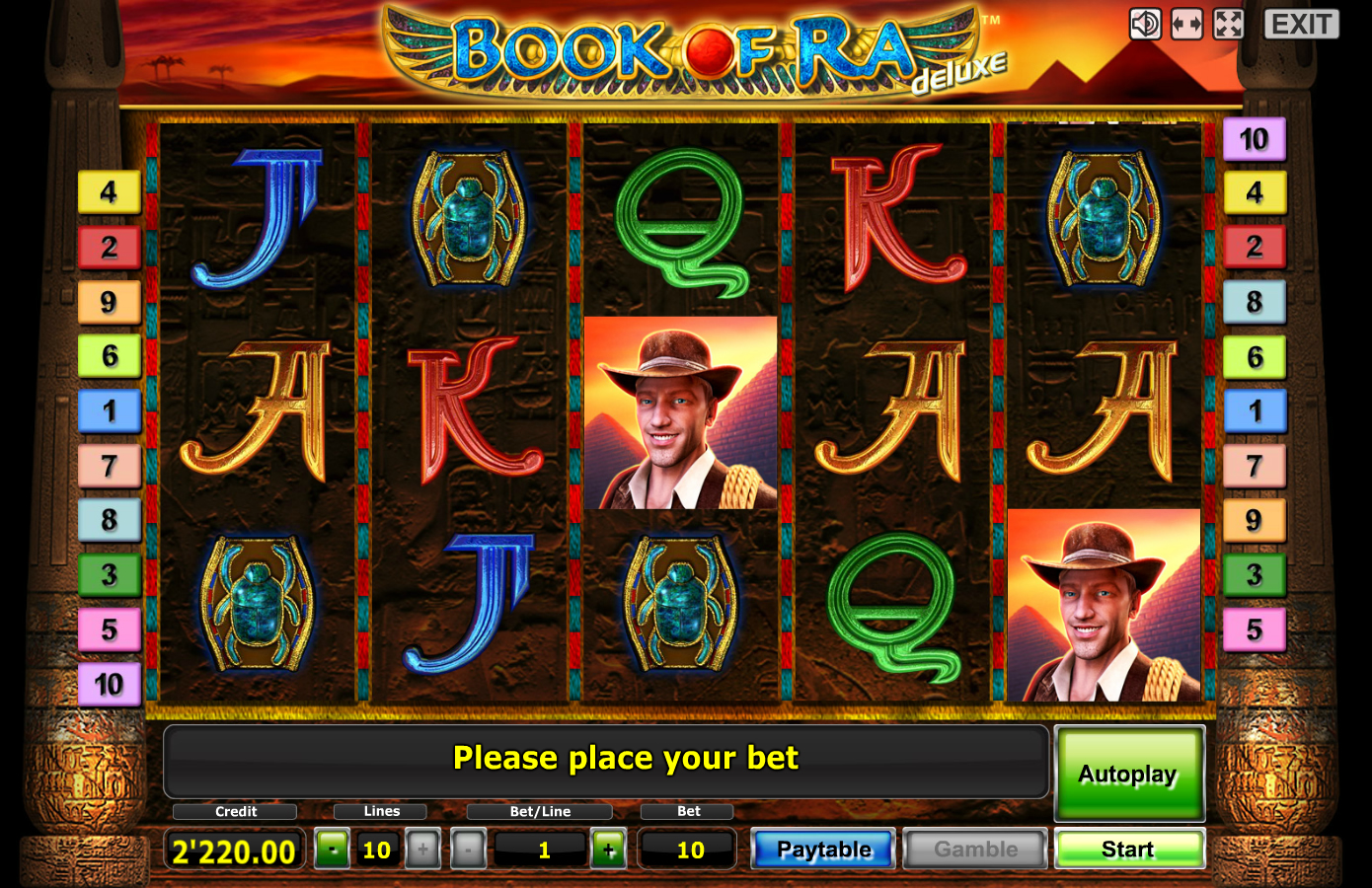 free slot book of ra