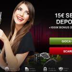 Slot Online, promozione 15 euro gratis senza deposito