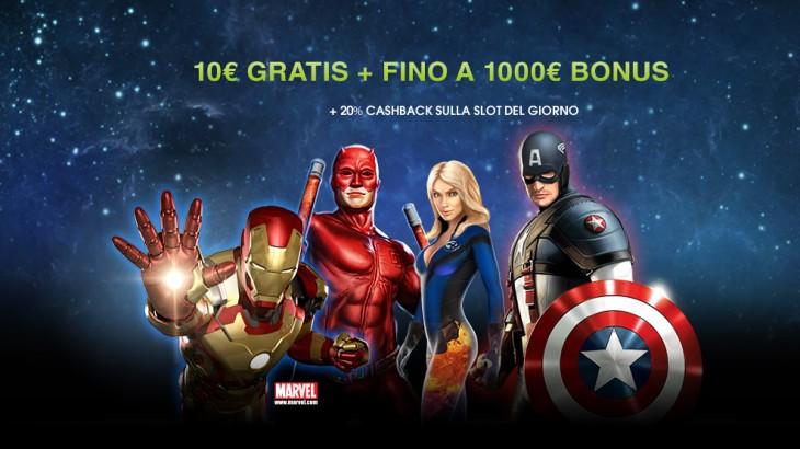 10 euro per tutti gli utenti di Slotonline.it